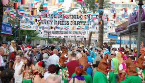 Benidorm Fancy dress november festival